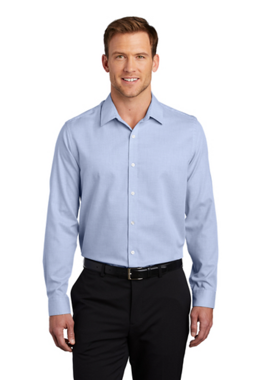 Port Authority ® Pincheck Easy Care Shir