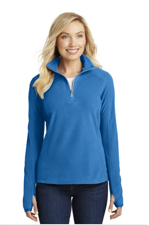 Port Authority® Ladies Microfleece 1/2-Zip Pullover