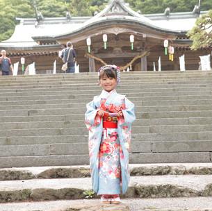 函館八幡宮でハイポーズ📸