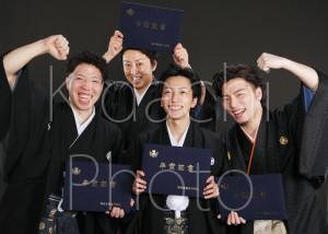卒業を友達と撮ろう!!