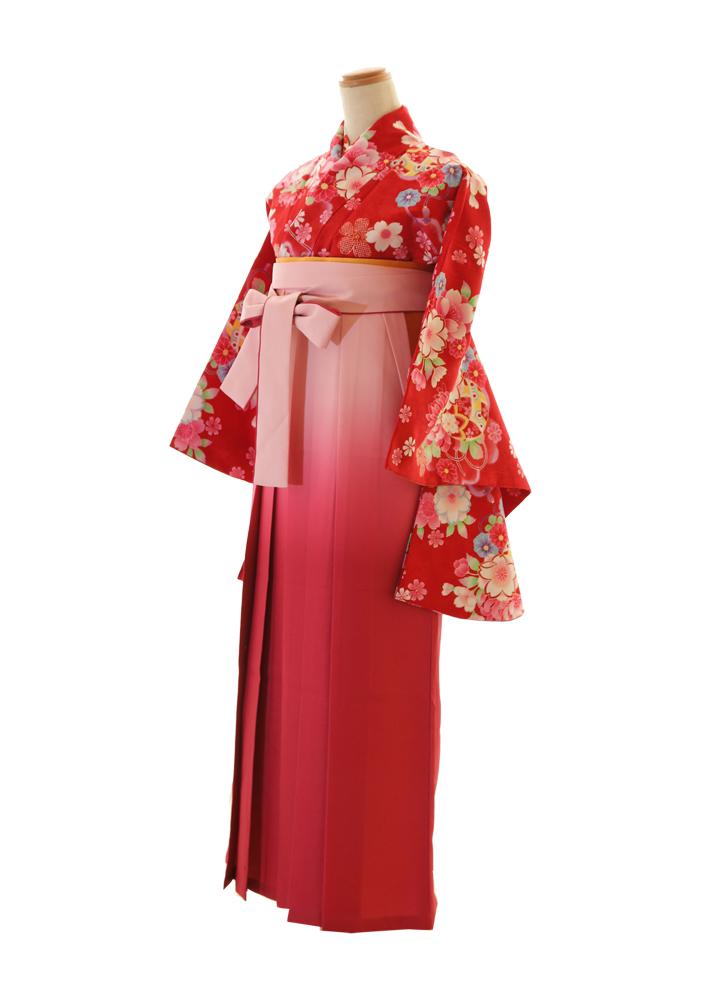 花赤×ピンクグラデ