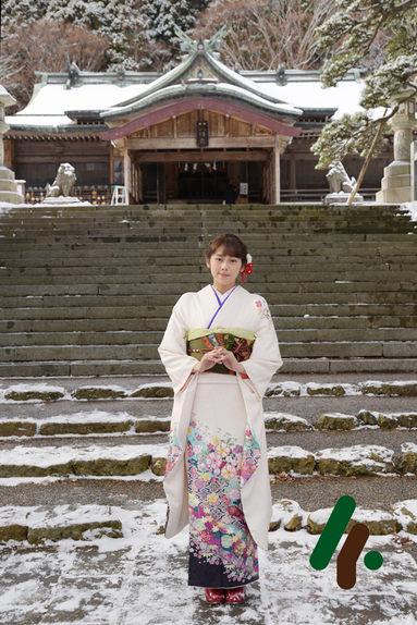 函館八幡宮で