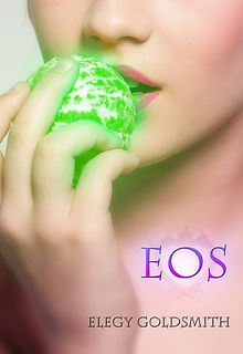 Sexy sci fi novel EOS by Elegy Goldsmith