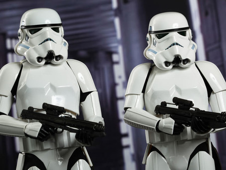 Yes, White ppl, We're the Stormtroopers