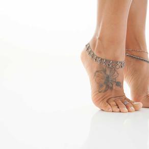 Nas pontas dos pés… / On the tiptoes…
