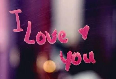 Amor, I love you...