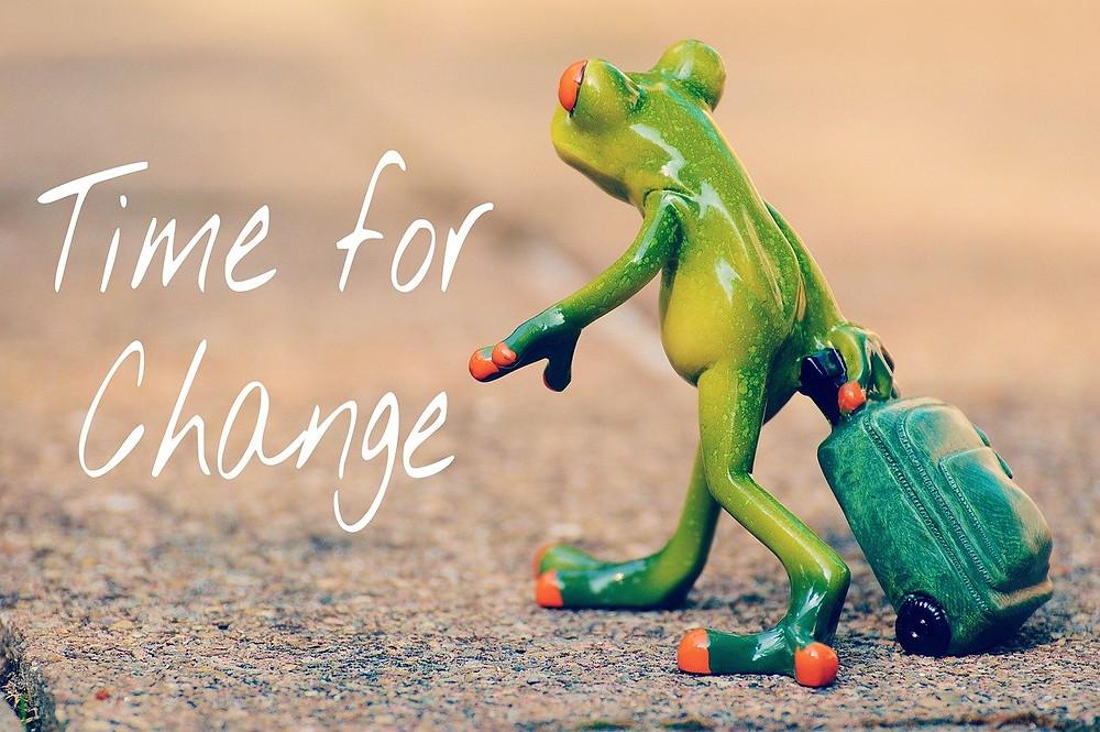 Tempo de mudança