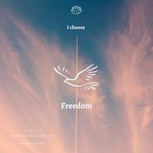 Eu escolho a Liberdade.../ I choose Freedom...