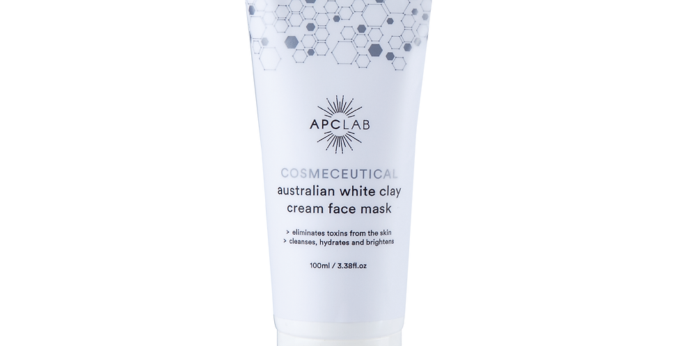 AUSTRALIA WHITE CLAY CREAM FACE MASK