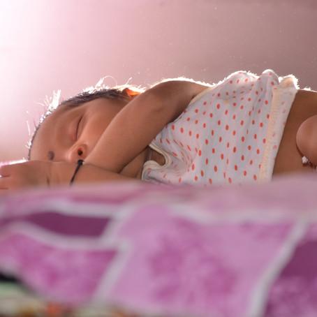 Dobranoc, pchły na noc… czyli higiena snu maluszka.