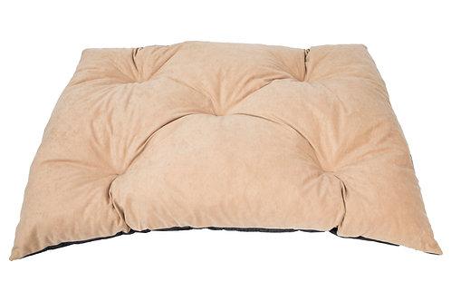 beżowa poduszka dla psa