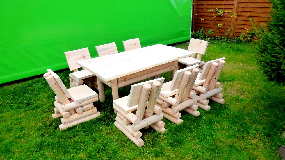 Holz Gartenmöbelsets, Terrassenset, Sitzgruppe, ST1-8