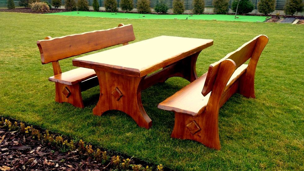 Holz Gartenmöbelsets, Gartenmöbel, Terrassenset, BOR