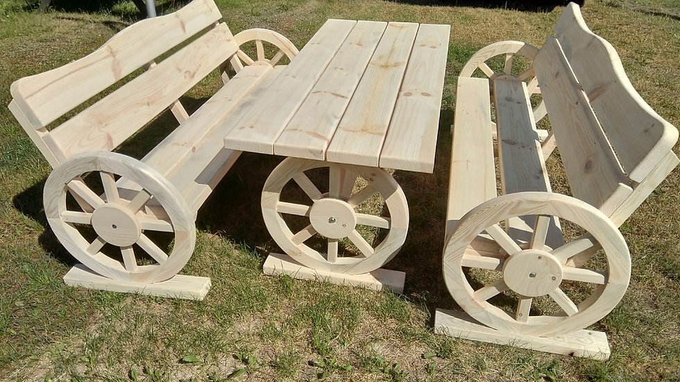 Gartenmöbel-Sets Holz, Terrassenset
