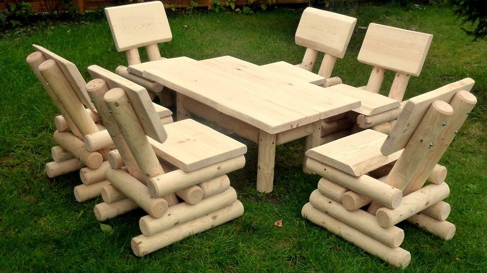 Holz Gartenmöbel, Terrassenset, ZK