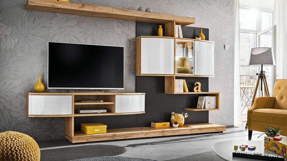 Wohnwand PAL 300x182x45 cm