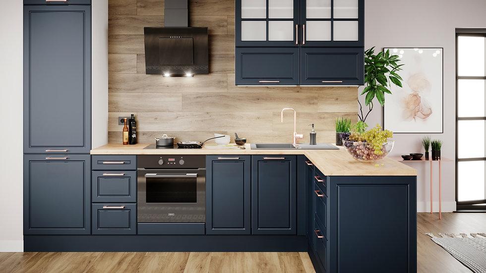 Küchenzeile MOD-IN L-Form 305x165 cm