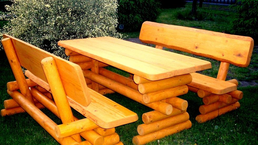 Holz Gartenmöbelsets, Terrassenset DE
