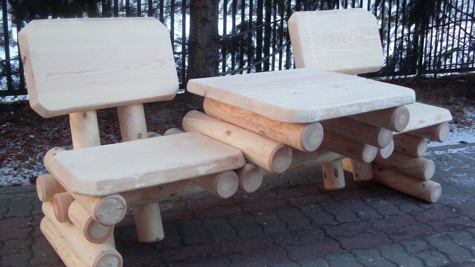 Holz Gartenmöbelsets, Terrassenset, Balkonmöbel LS