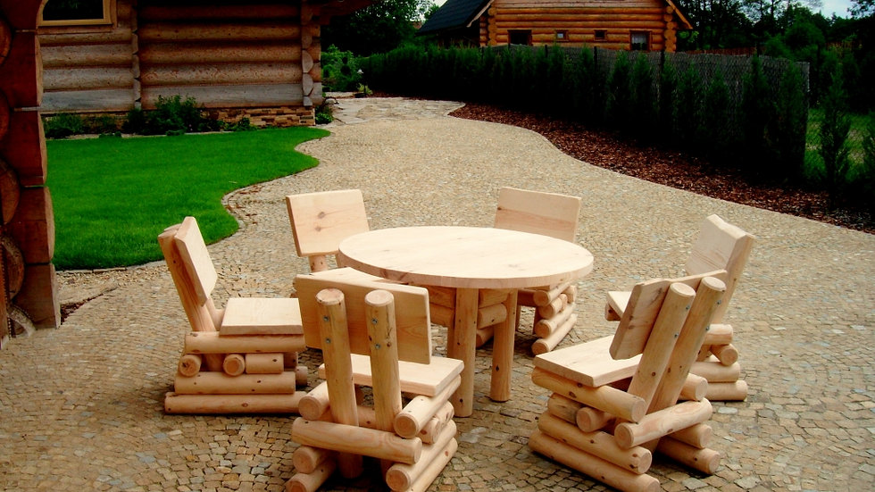 Holz Gartenmöbelsets, Terrassenset OK6