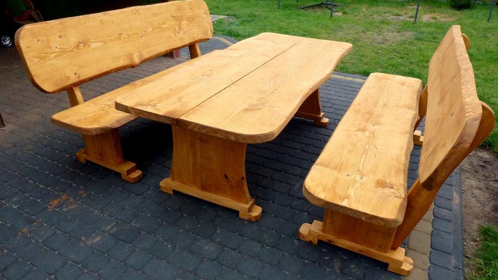 Holz Gartenmöbel, Terrassenset, B + 810