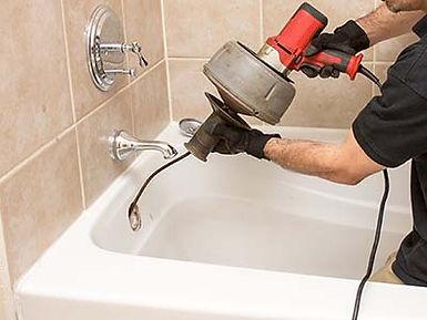 deboucchage de baignoire par furet