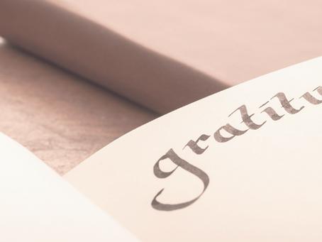 Dankbarkeit macht glücklich