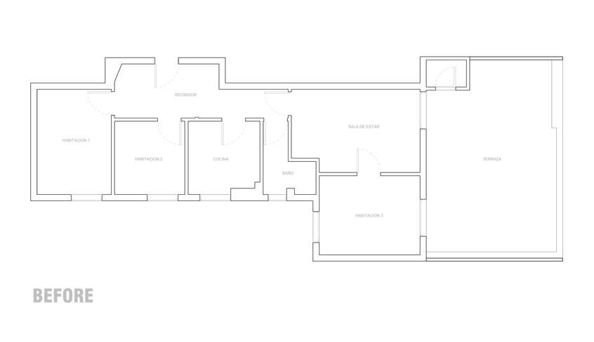 LOPE DE RUEDA 18_TERMINADO - Floor Plan