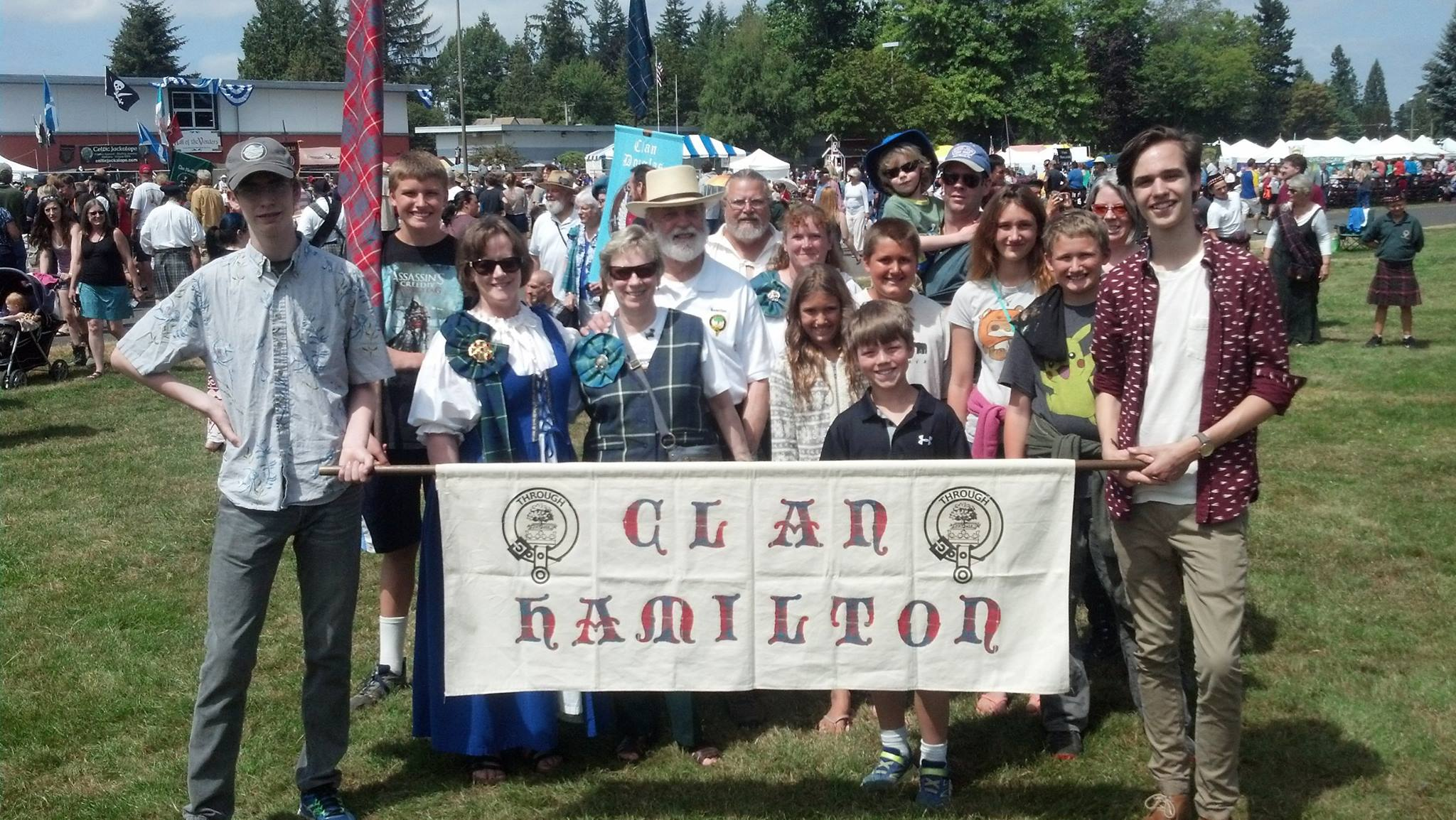 2016 Hamiltons in Seattle Scottish Highland Games