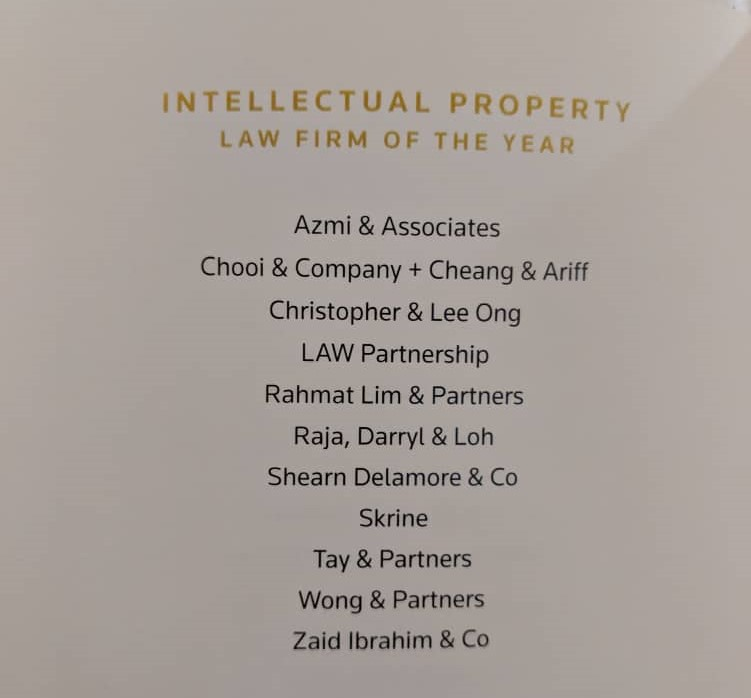 Intellectual Property Law Firm of the Ye
