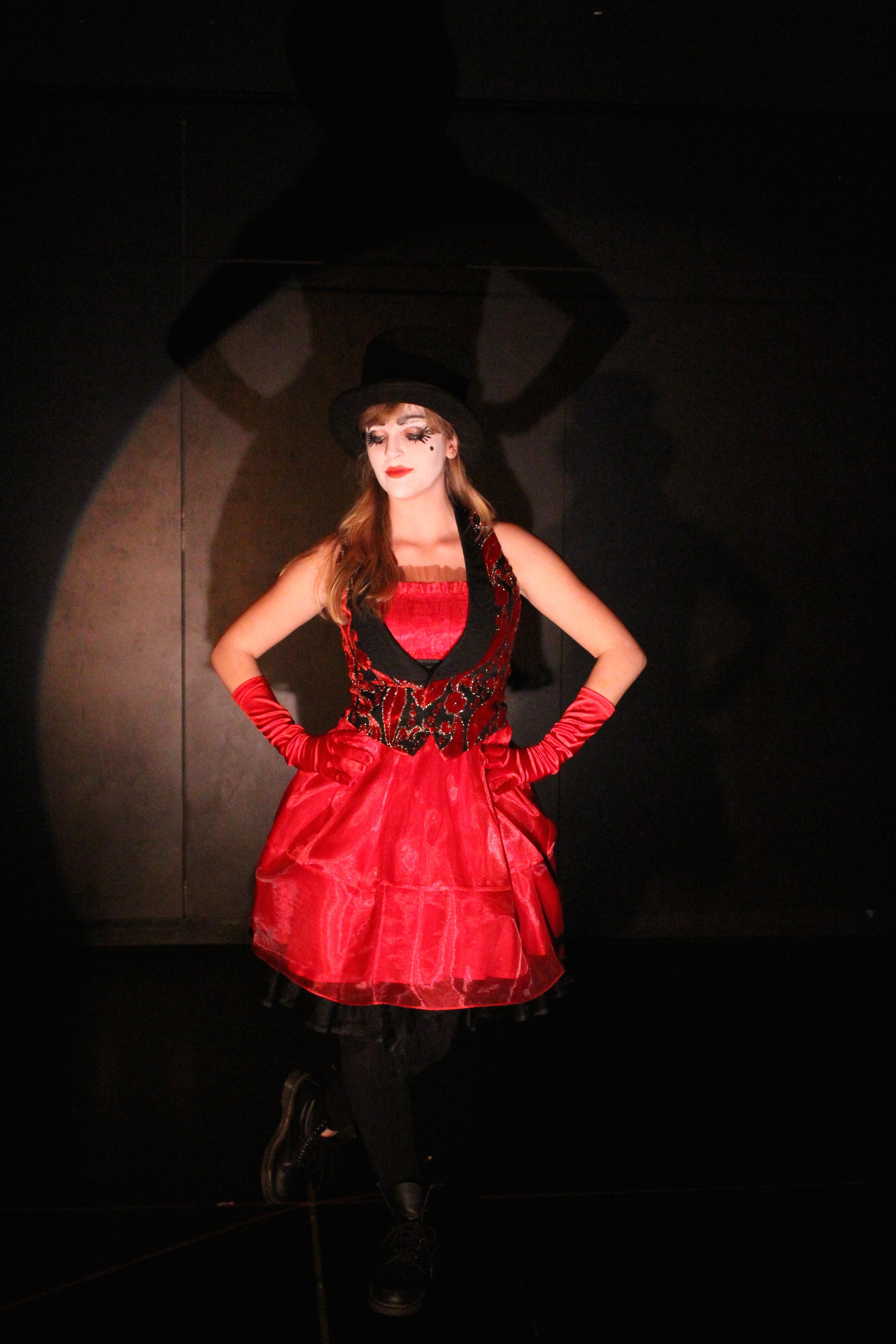 As Rosa in La La La Strada