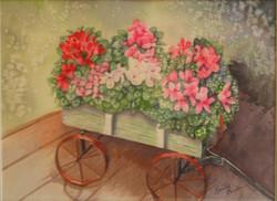 Floral Wagon