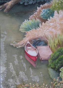 Waiting Canoe
