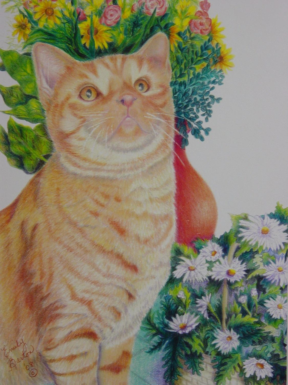 Florist Kitten