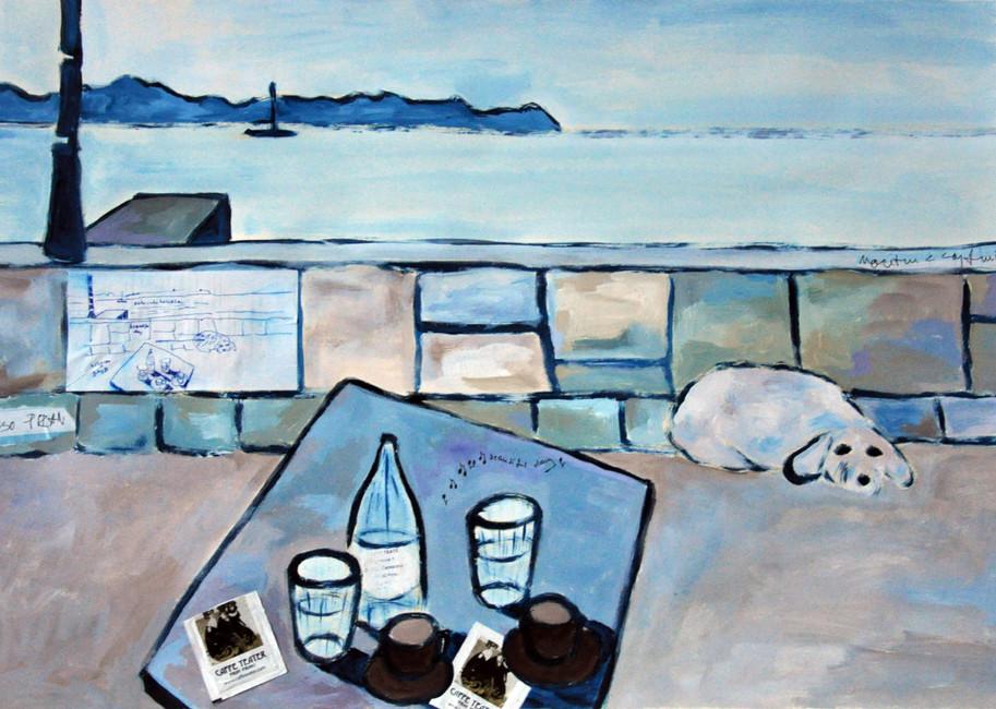 Cafe in Piran