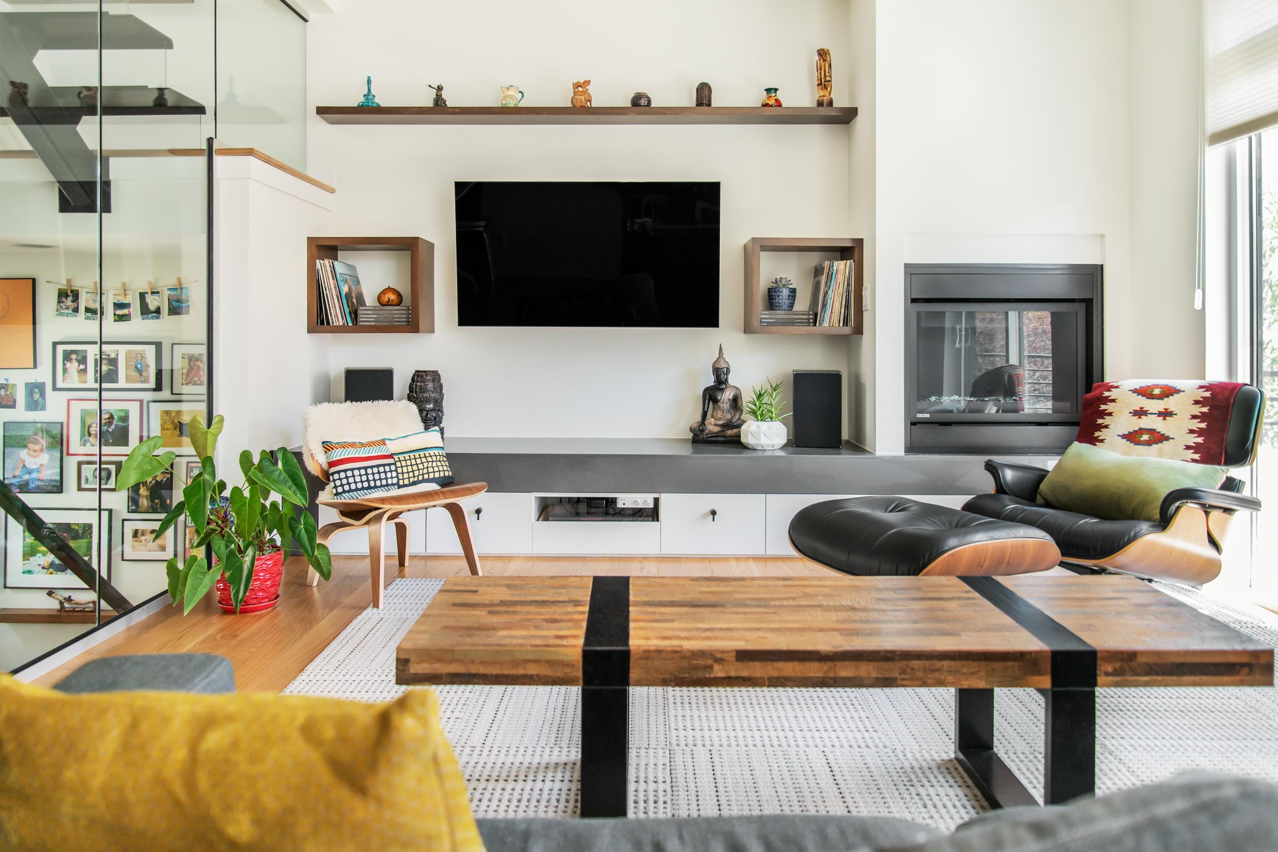 Seattle living room design