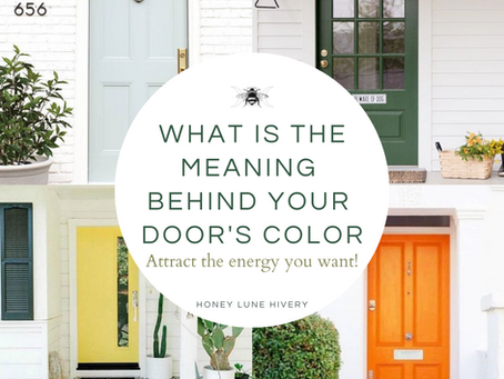 What is the Meaning Behind your Door's Color