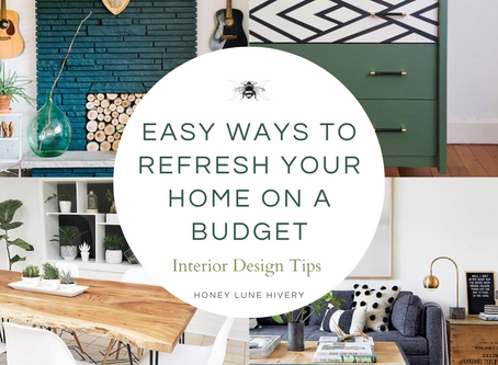Easy Ways to Refresh your Home on a Budget