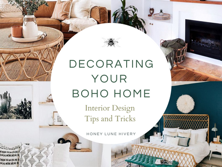 Design Tips on Decorating your Boho Home
