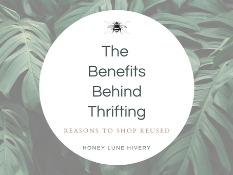 The Benefits Behind Thrifted Decor
