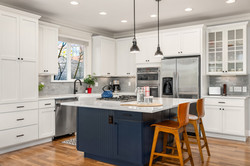 Seattle kitchen remodel interior design.
