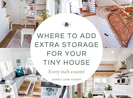 Where to Add Extra Storage for your Tiny House