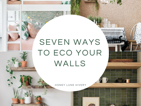 Seven Ways to Eco Your Walls