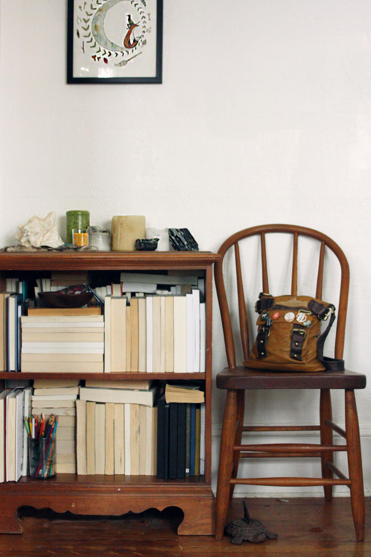 honey lune hivery bookcase