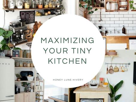 Maximizing Your Tiny Kitchen