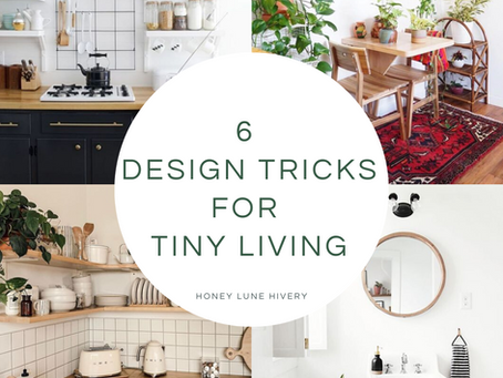 6 Design Tricks for Tiny Living