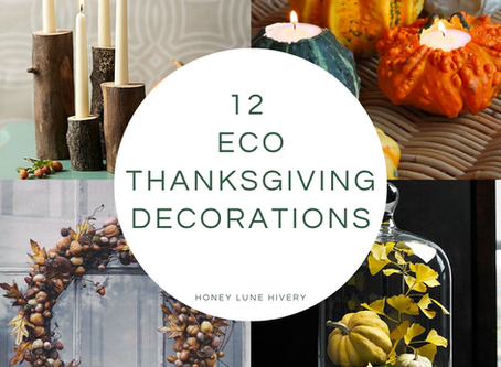 12 Eco Thanksgiving Decorations