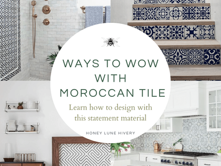 How to use Moroccan Tile in your Home