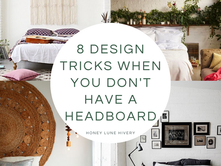 8 Design Tricks When You Don't Have a Headboard