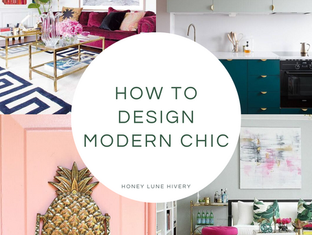 How to Design Modern Chic
